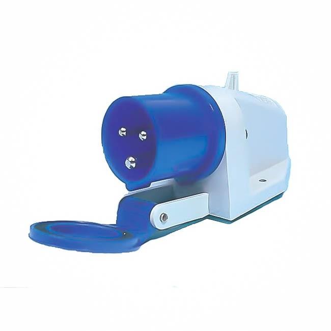 mains hook surface mounted