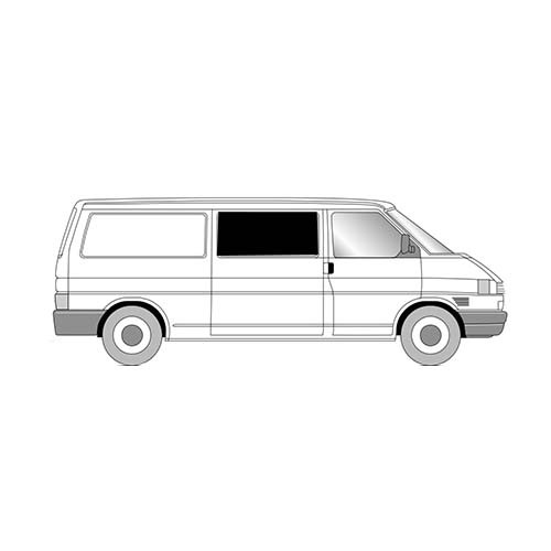 Vw T4 Front Fixed Side Window Privacy Vanguard