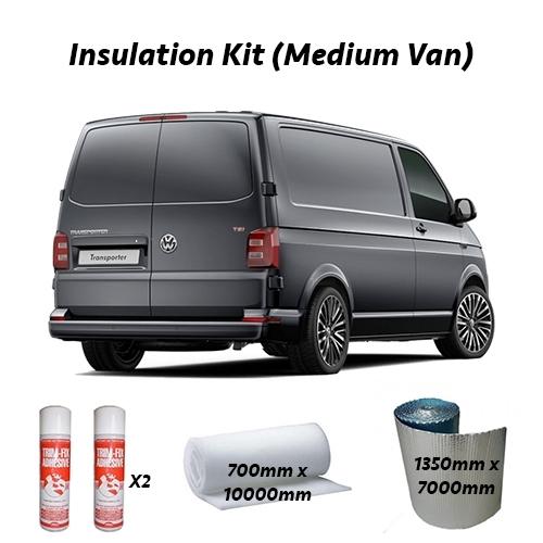 Campervan Insulation Kit Medium Van