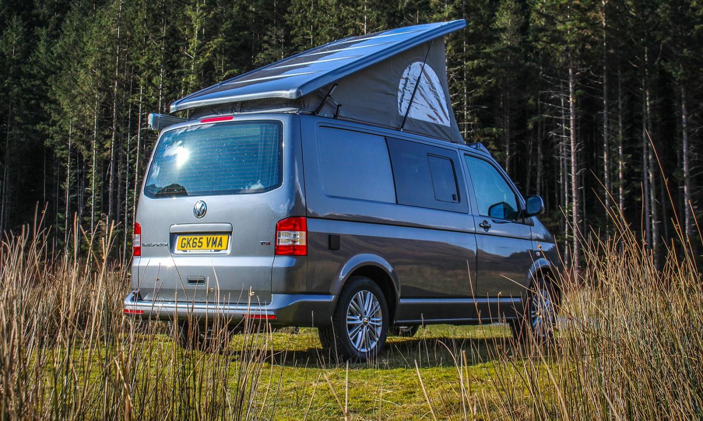VW T5 Highline Campervan Conversion with SCA 190Comfort front elevating pop top roof