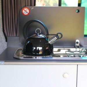 Campervan Kitchen Appliances Smev 9222 Hob & Sink combo