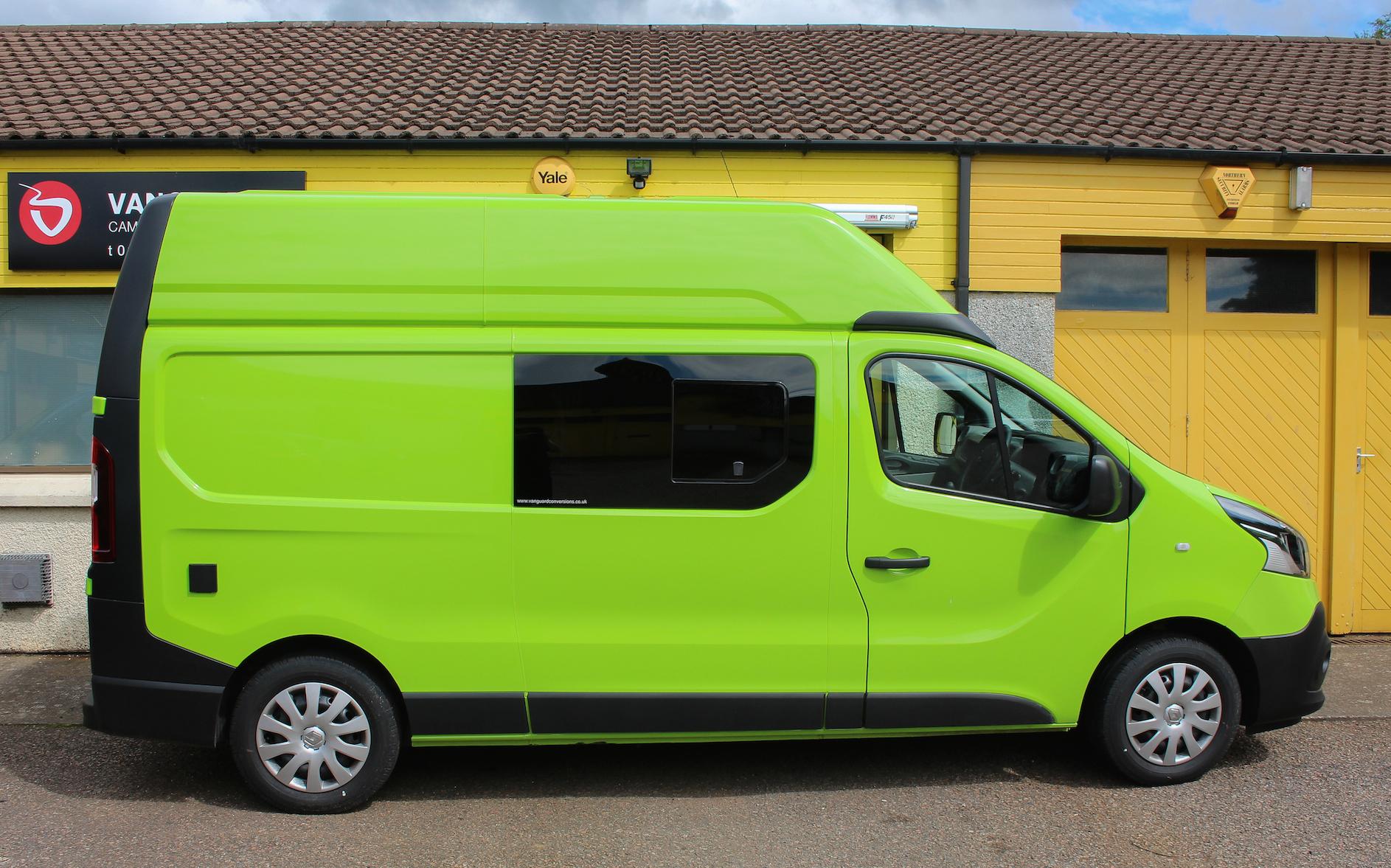 2016 Camper Van >> Renault Trafic MTB Campervan