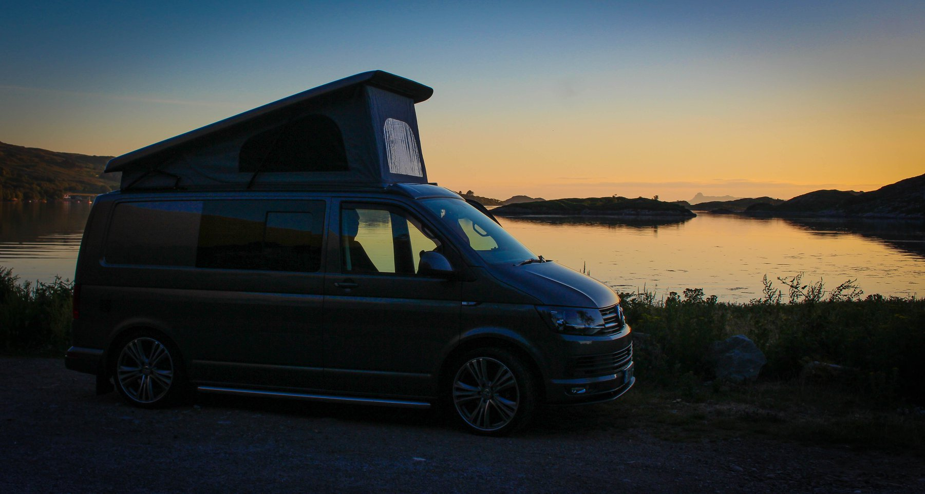 VW T6 Campervan Sunset