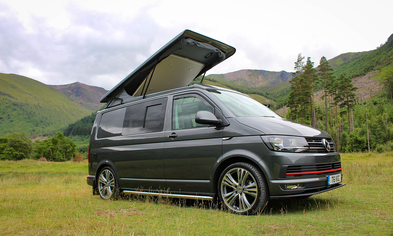 vw t6 highline sport campervan demo vanguard conversions. Black Bedroom Furniture Sets. Home Design Ideas